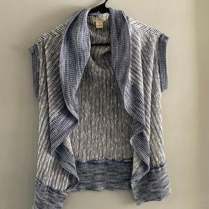 Short Sleeve Knit Cardigan